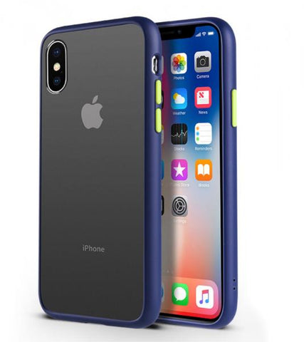 Air Protect Matte negro Funda iPhone X / XS