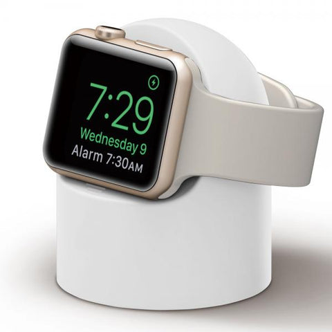 Soporte Apple Watch Ovoide blanco