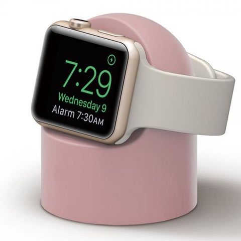 Soporte Apple Watch Ovoide rosa