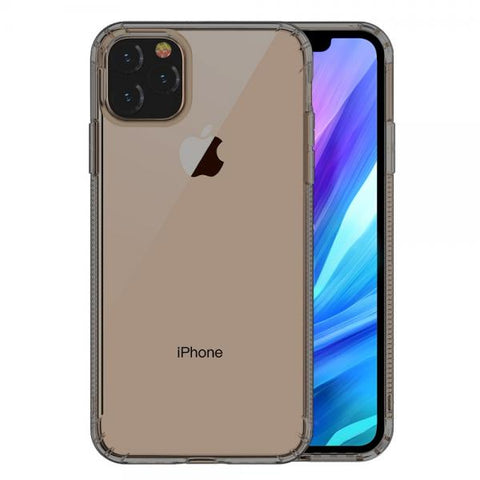 Gel negro Anti Polvo Leeu Funda iPhone 11
