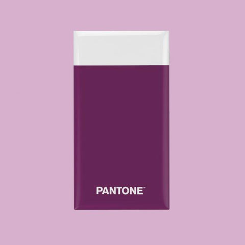 Powerbank Pantone 6000 mAh purpura