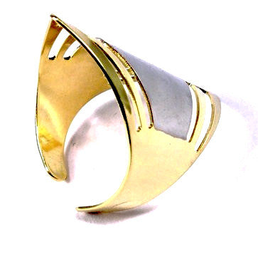 Gold Plated Art Deco Style Ring