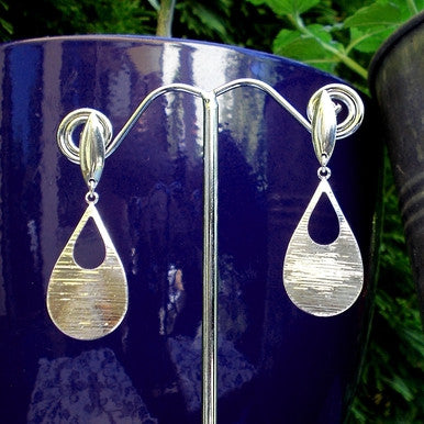 Lovely Silver Plated Fancy Earrings