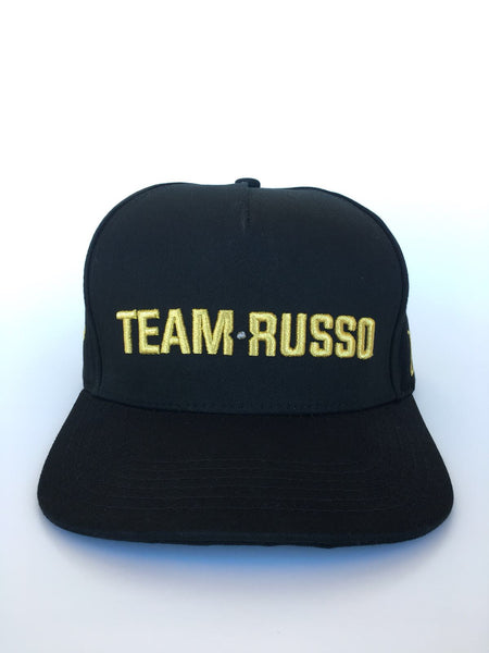 Rich & Fly TEAM RUSSO 24K Gold Snapback