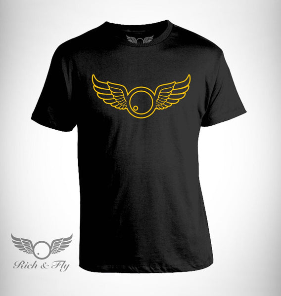 Rich & Fly GOLD Outline Tee (SALE)