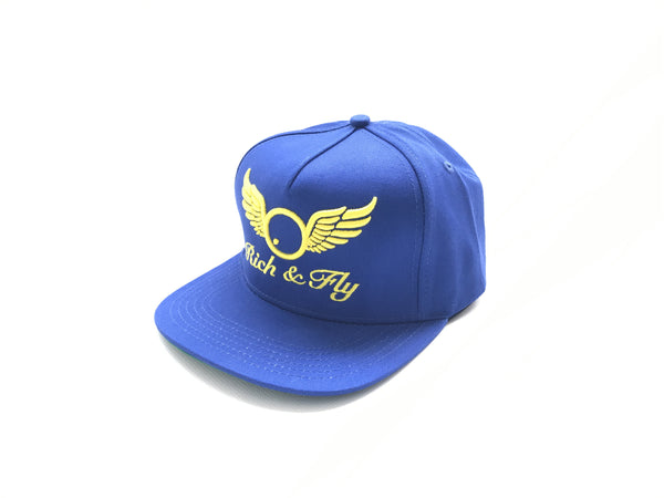 Rich&Fly Classic Royal Blue Snapback