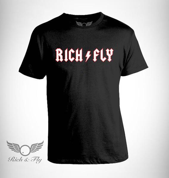 Rich & Fly Metal Black Tee