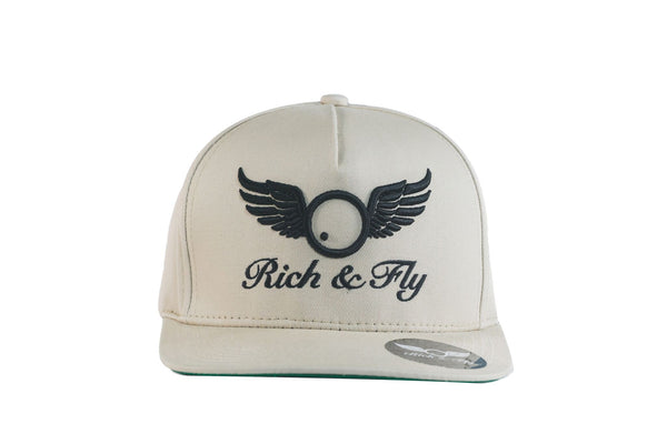 Rich & Fly Classic Beige Snapback