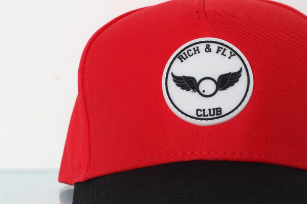 Rich & Fly Club Rubber Patch