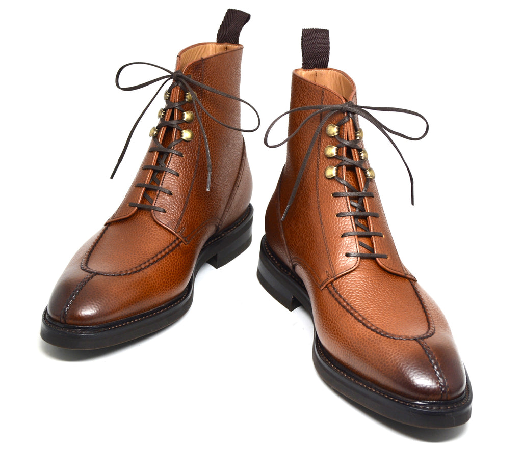 Cobbler Union pebble grain cognac