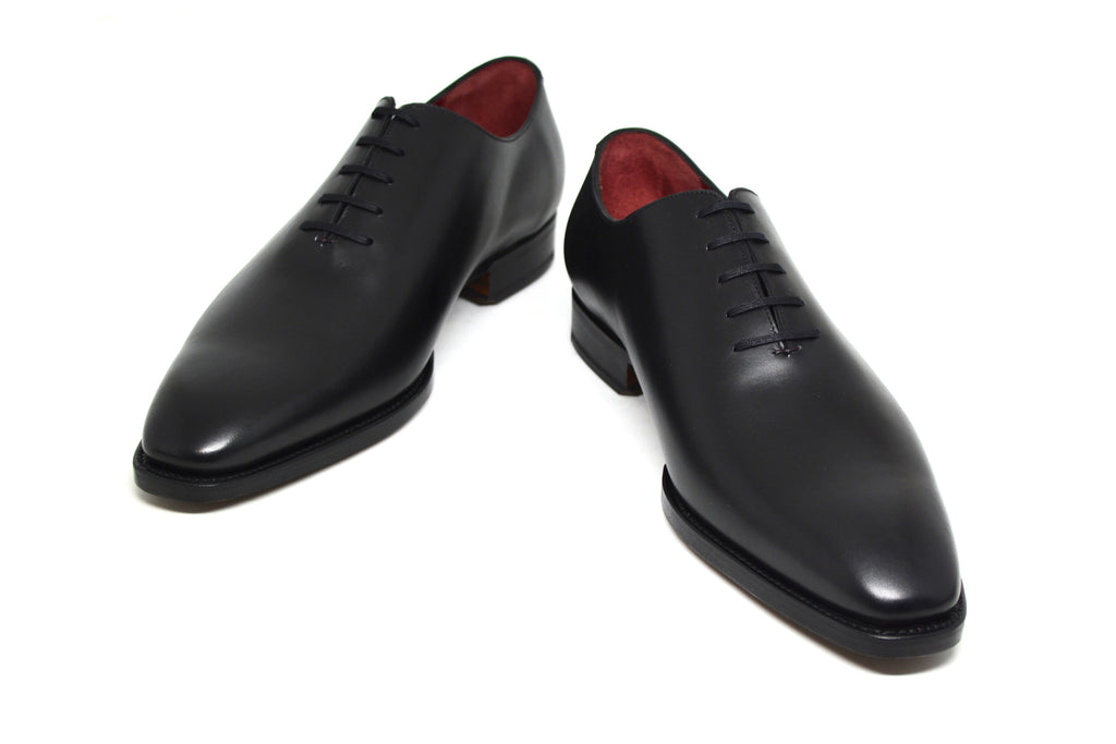 miquel ii black calf wholecut
