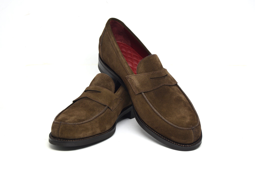 cobbler union brown suede henry ix
