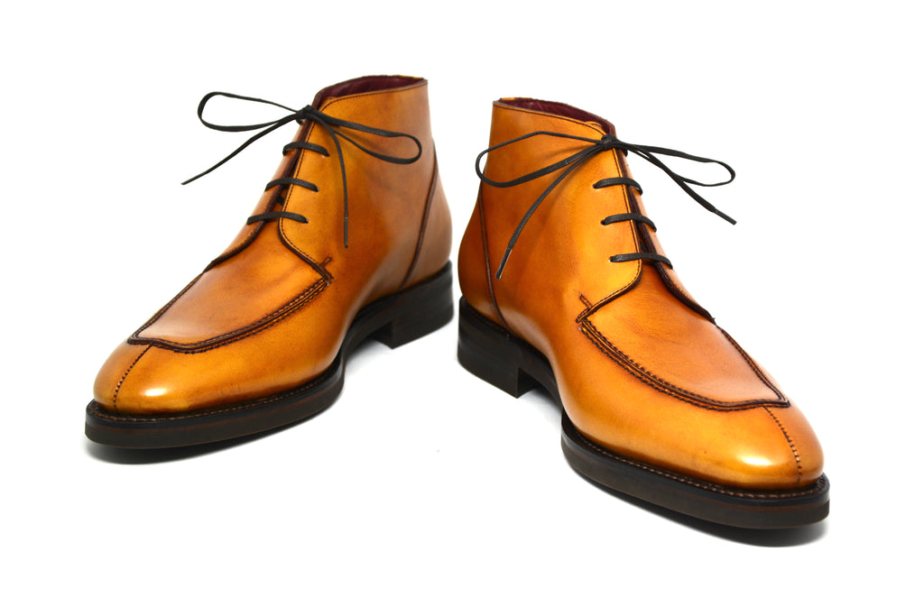 Cobbler Union French Vegano Calfskin Mustard