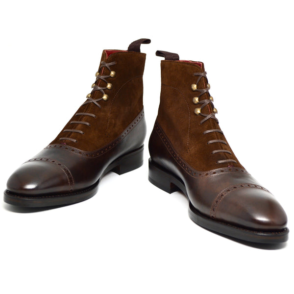 Guillaume V Balmoral Boot brown
