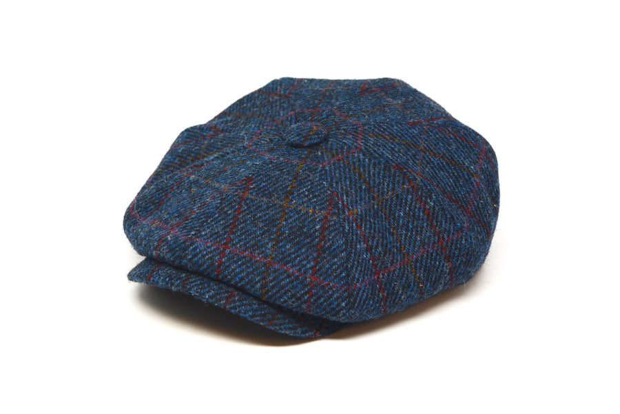LOCK & CO. - MUIRFIELD - NAVY CHECK