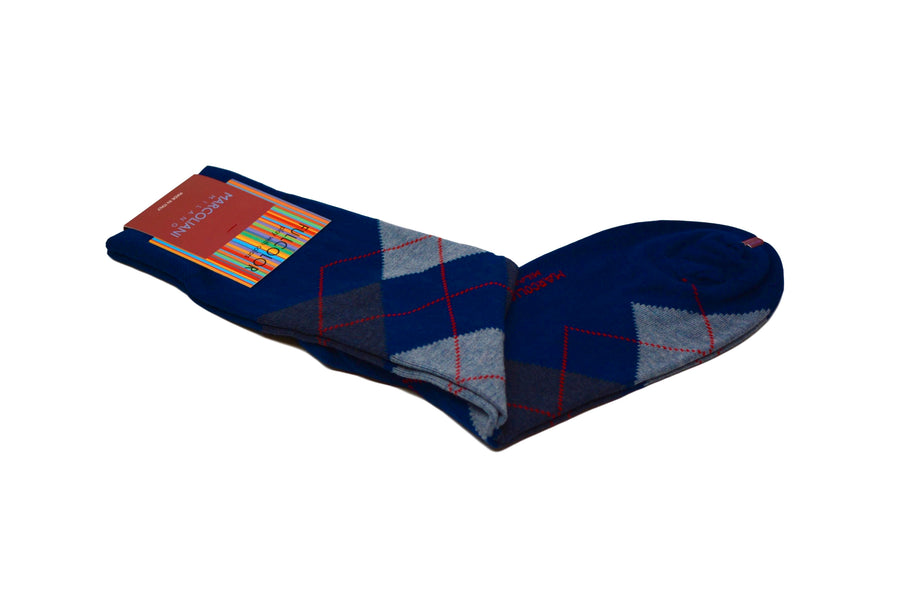 MARCOLIANI - ARGYLE - ROYAL BLUE