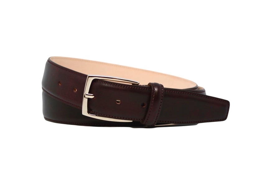 MATCHING BELT - MUSEUM OXBLOOD CALF