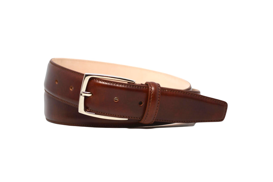 MATCHING BELT - MUSEUM COGNAC CALF