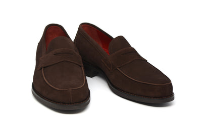 HENRY - BROWN SUEDE - MONACO