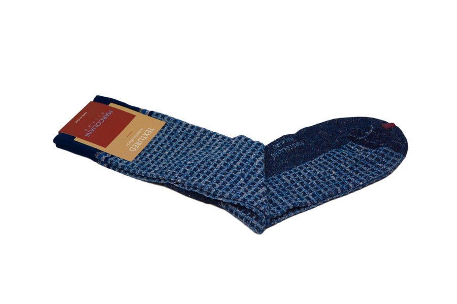 MARCOLIANI - BASKET - NAVY BLUE