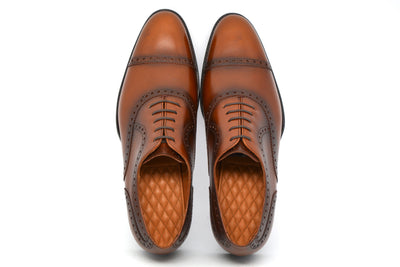 WILLIAM - COGNAC CALF - CITY