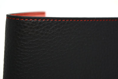 THE BILLFOLD WALLET - BLACK/RED