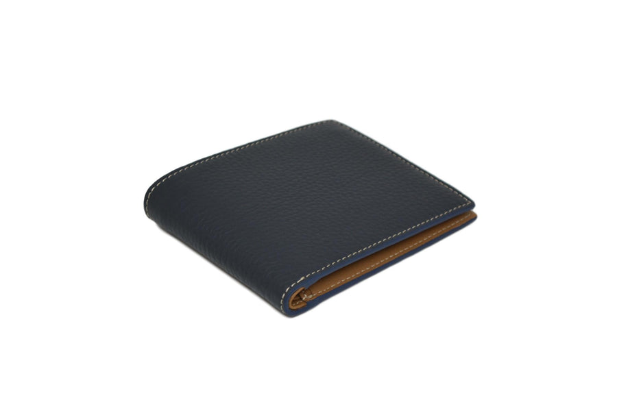 THE BILLFOLD WALLET - BLUE/CUERO