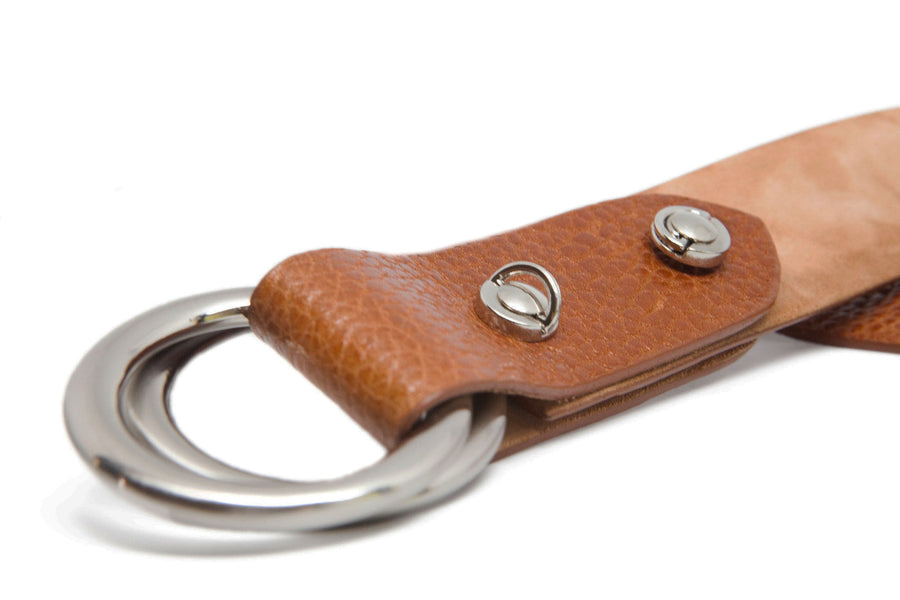 O RINGS COGNAC COUNTRY BELT