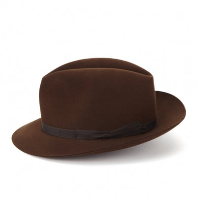 LOCK & CO. - VOYAGER TRILBY - CORK