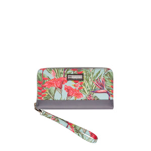 Tropical Collection Clutch Wallet