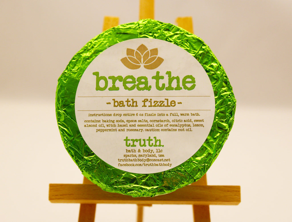'breathe' bath fizzle