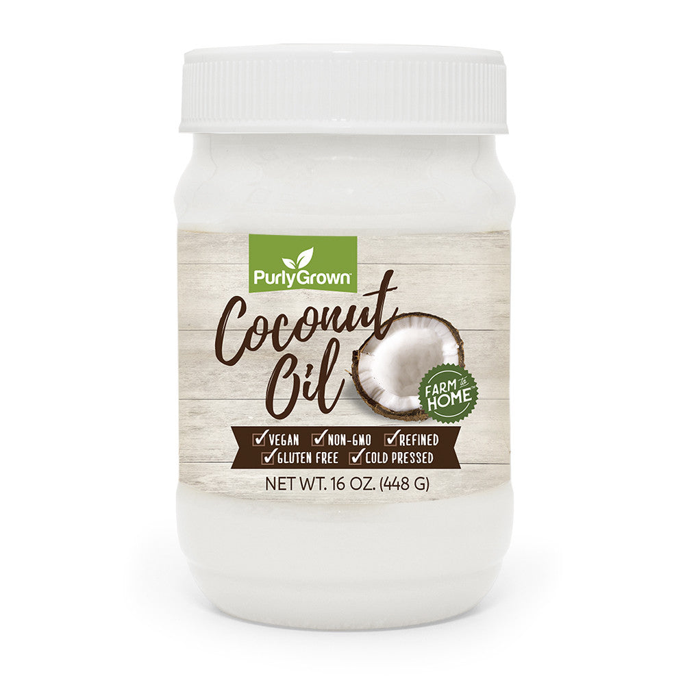 organic refined cold pressed coconut oil healthy cooking coconut