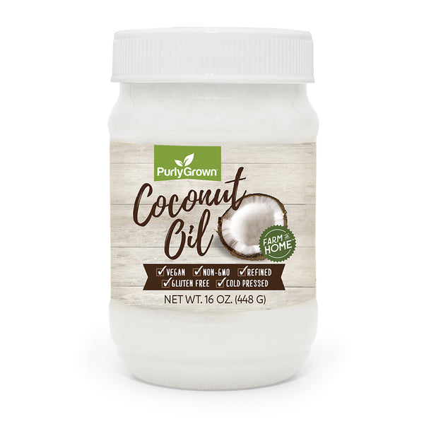 Purly Grown Coconut Oil