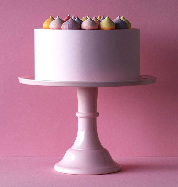A Little Lovely Company - Large Cake Stand in Pink - Scandibørn