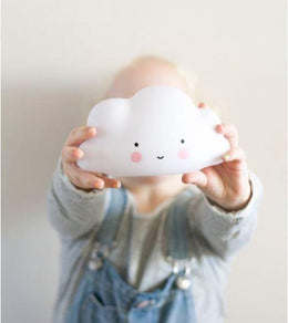 A Little Lovely Company - Mini Cloud Light White - Scandibørn