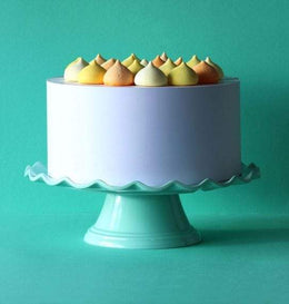 A Little Lovely Company - Wave Cake Stand in Mint - Scandibørn