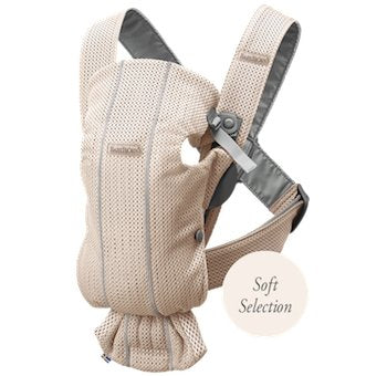 BabyBjorn Baby Carrier Mini Soft Collection - Pearly Pink Mesh - Scandibørn
