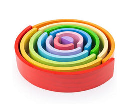 Bigjigs Stacking Rainbow - Large - Scandibørn