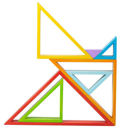 Bigjigs Stacking Triangles - Scandibørn