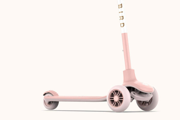 Birdie Kids Scooter Dove White (Non Electric) - Scandibørn