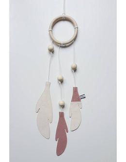Bisou De Lou - Dream Catcher in blush and white - Scandibørn