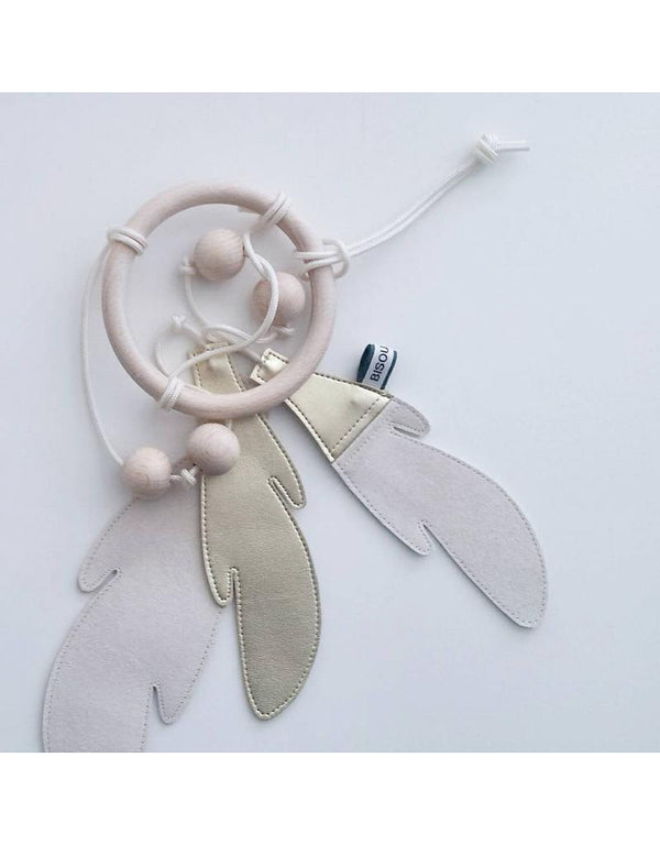 Bisou De Lou - Dream Catcher in Gold and White (Limited Edition) - Scandibørn