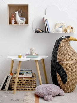 Bloomingville Bankuan Penguin Basket - Scandibørn