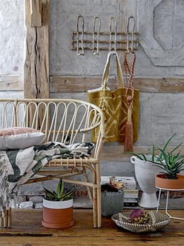 Bloomingville - Cane Coat Rack in Natural - Scandibørn