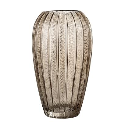 Bloomingville - Glass Vase in Brown - Scandibørn