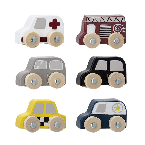 Bloomingville Multicolour Toy Car Set - Scandibørn