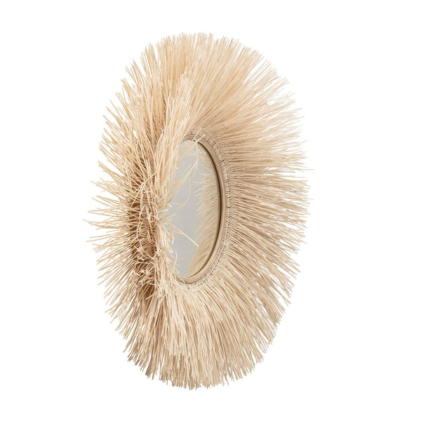 Bloomingville Natural Cane Mirror - Scandibørn