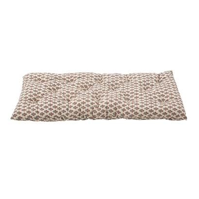 Bloomingville Oversized Cotton Cushion in Nature - Scandibørn
