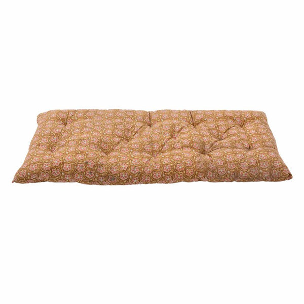 Bloomingville Oversized Kamala Cotton Cushion in Brown - Scandibørn