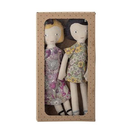 Bloomingville Pair of Soft Toy Dolls - Scandibørn